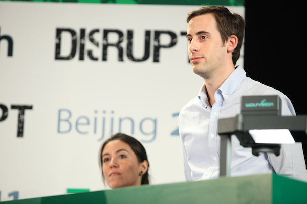Joop Dorresteijn Presenting at Techcrunch Disrupt