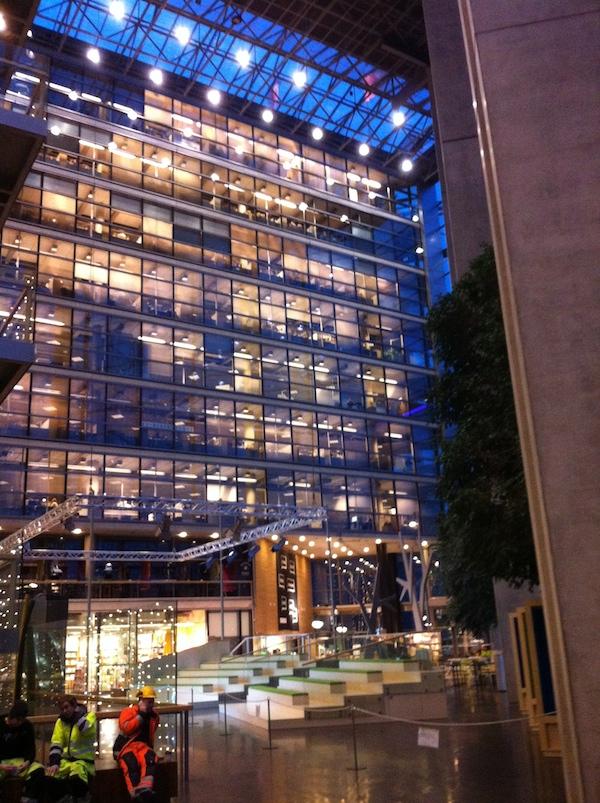Sanoma headquarters in Helsinki