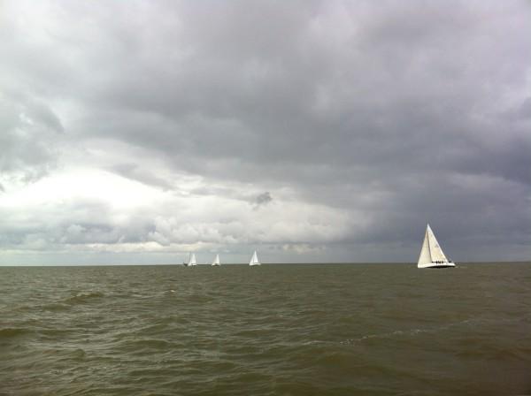 Nice contrast, dutch weather